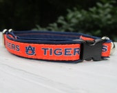 Auburn University Cat or Small Dog Collar