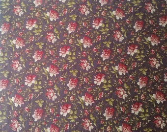 STORE CLOSING - See Shop Announcement for deep discount! Moda Fabric ~ Vin D Jour by 3 Sisters # 44024 ~ 35in x 44in (1 inch shy of a yard)