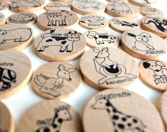 Mamas & Babies - a Montessori matching game of animal grown ups and babies