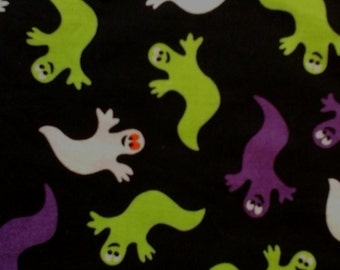 Sale Halloween Ghost Fabric 100% Cotton Fabric 1 yard X 44""