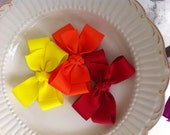 Set of three boutique bows