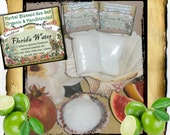 Florida Water Ritual Salt, 2 oz - Blessed Sea Salt with my own Florida Water