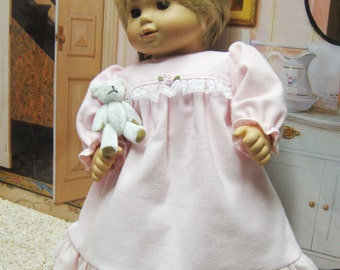 Pink Nightgown for Bitty Baby Doll