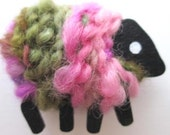 LizzyC Sheep Brooch - Penny
