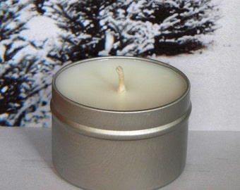 FEELING PINE Pine & Bayberry Soy Candle Tin - Handmade Soy Candle