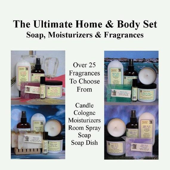 Soap Gift Set, Housewarming Gifts, Hostess Gift Set, Birthday Gift Set
