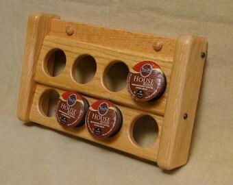 Oak K-cup (coffee pod) Holder