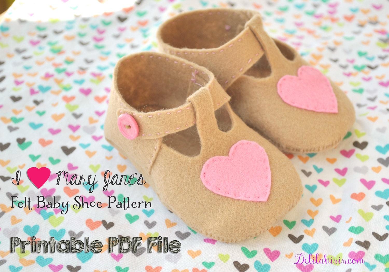 Baby Mary Jane Shoe Sewing Pattern Free