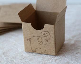 Elephant Kraft Boxes Set of 6