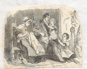 Tiny Victorian Illustration
