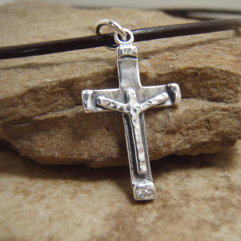 boy s cross necklace boy s communion by filigreepheasant