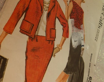 Vintage Pattern, McCall 6531, Misses Junior Suit and Overbllouse, Vintage Antique Collectible, Patterns Sewing Crafting Paper Ephemera