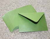 "A7 (7-1/4"" x 5-1/4"") Envelopes - Set of 6: Stardream Metallic Fairway Green"