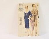 Vintage 1960s One piece Dress Sewing Pattern 4118 size 14