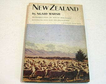 New Zealand By Ngaio Marsh Vintage Book