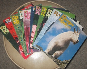1977 Ranger Rick magazines, 11 issues National Wildlife Federation
