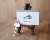 Welcome Home - Mini Letterpress Card
