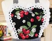 Custom Listing for Pheenayz - Retro Apron Sweetheart Cherries