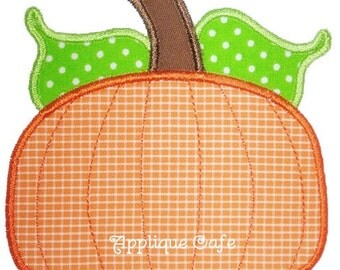 025 Pumpkin Applique Design