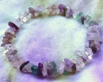 Fluorite Rock Kandy Bracelet
