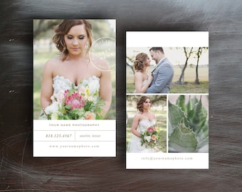 Business Cards - Business Card Templates for Wedding Photographers - Wedding Planner Template - Photo Business Cards - Photography Templates