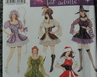 Simplicity 4046 Costumes for Adults by Elaine Heigl  in sizes 14-16-18-20 (uncut)