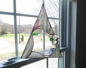 Hanging Planter in Stain Glass