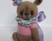 Crochet Pattern for Belle Bunny a Thread Artist Bear/Bunny  by Joanne Noel of  Bayou Bears
