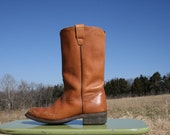 Vintage 70's Boots - Unisex - Mens Size 9 1/2 - Women's Size 11 - Campus - Motorcycle - Hippie