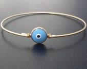 All Seeing Eye Bracelet, Tamara - Evil Eye Gold Bracelet, Protective Eye Bracelet, 3rd Eye Jewelry, Evil Eye Jewlery, All Seeing Eye Jewelry
