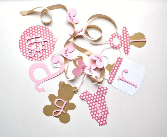pink and gold baby shower decorations baby it 39 s a girl