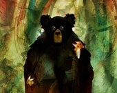 bear CONTEMPORARY ART PRINT