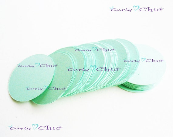 "40 Circle Tag Size 1 1/4"" -Circles die cuts -Cardstock Circles tags -Circles labels -Paper die cuts -Paper Labels"