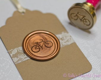 Bicycle Peel and Stick Flexible Wax Seals, 1.3 Inches in Size with One Inch Adhesive