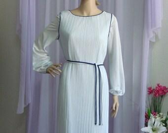 Vintage Pleated Dress.