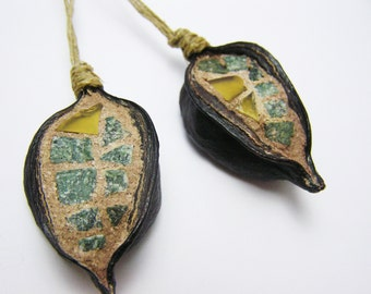 Items Similar To Milkweed Pod Bird Ornament On Etsy