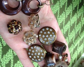 Brown costume costume jewelry