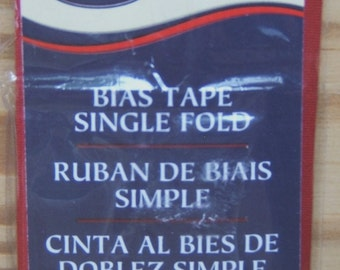 Garment Bias Tape Single Fold