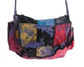 Back To School Hand Dyed Bag Shoulder HandBag Gift Hippie Boho Gypsy
