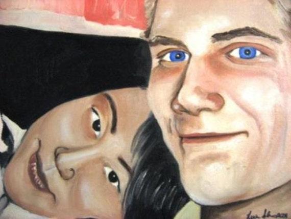 Large Custom Oil Portraits