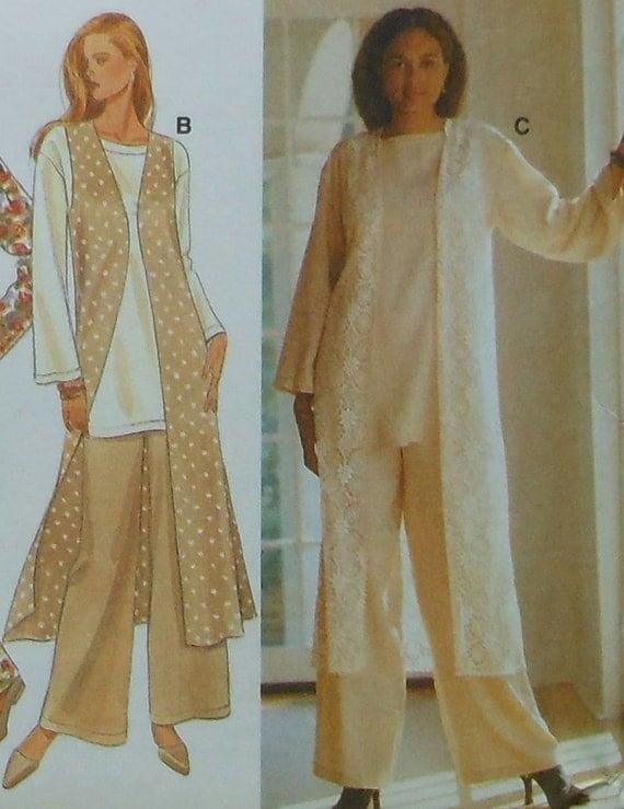 Women Long Vest Sewing Patterns - Patterns Kid