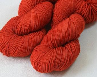 Paprika - Saros sport merino yarn - 100g