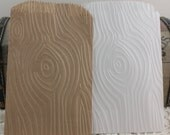 25 Wood Grain GlassineBags, Kraft Bags, White Paper Bags, Candy Bags, Cookie Bags, Wedding Favor Bags, Gift Bags, Party Supplies, Favor Bags