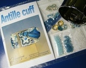 Kit for Antille cuff , embroidery and shibori jewel