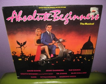 SHOP CLOSING SALE Vinyl Record Album Absolute Beginners Orignal Soundtrack Lp Sealed 1986 David Bowie Sade Julien Temple