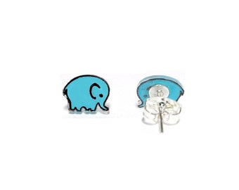 Lil' Elephants, Stud Earrings