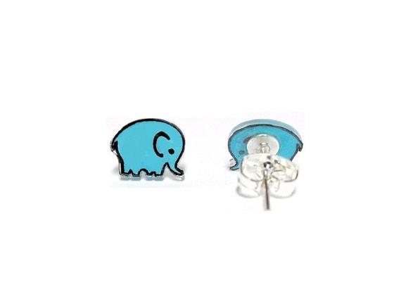 Lil' Elephants, Stud Earrings