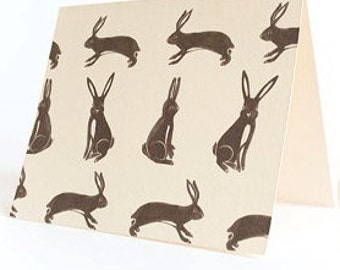 Rabbit Stationary Set of 4 Cards
