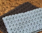 Easy Crochet Dishcloth Pattern, Knitting Pattern, Omaha