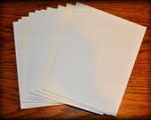 """reserved for Beverly: six sheets of Fome Core Board, 5"""" X 7"""", fomecore, foam core"""